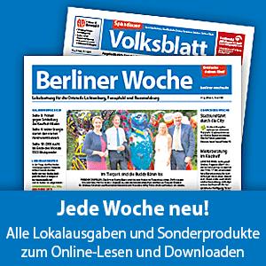 Lesen Sie die aktuelle Ausgabe der Berliner Woche auch als E-Paper